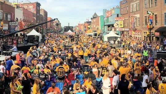 Stanley Cup playoffs crowd