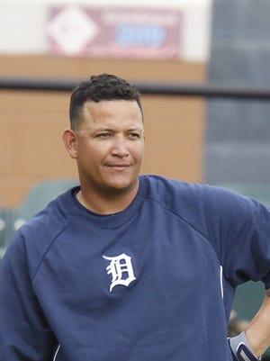 Tigers slugger Miguel Cabrera