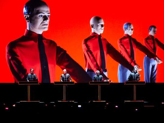 Kraftwerk will headline the 2016 Movement festival at Hart Plaza