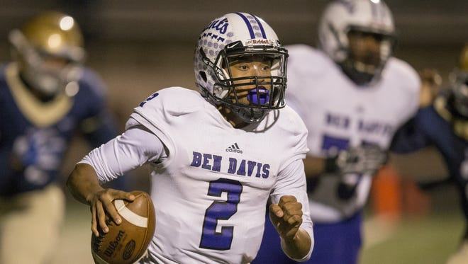 Ben Davis QB Reese Taylor is one of the most exciting players in Central Indiana.