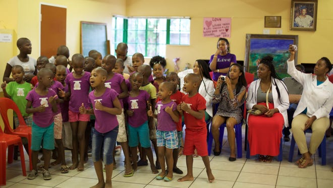 Children of the Orlando Children's Home, South Africa.