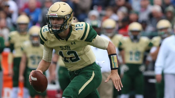 St. Joseph's quarterback Nick Patti will try to lead the Green Knights to the No. 1 ranking in North Jersey again.