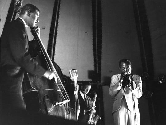 Miles Davis, portrait by Chuck Stewart