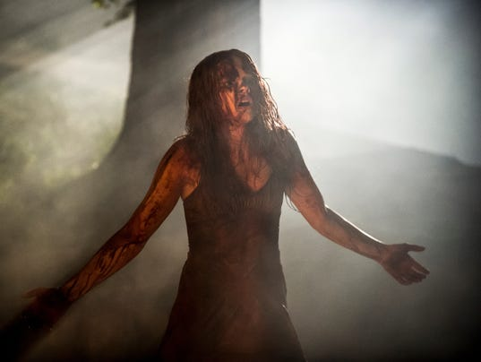 Chloe Moretz as 'Carrie'