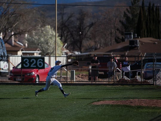 Cedar played Stansbury at Elks Field in St. George on Friday, March 7, 2014, one of thousands of games played by area youth at the downtown ballfield. It is scheduled to make a move to the Bloomington area now as part of a three-way land deal to make room for a new elementary school.