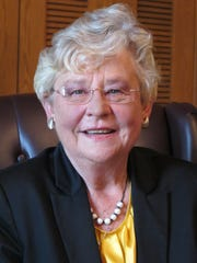 Alabama Gov. Kay Ivey, in a photo from 2014 as lieutenant