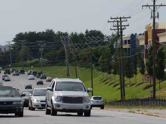 File photo of Woodruff Road traffic