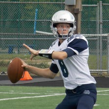 Sophomore quarterback Tyler Santangelo has led Cranbrook Kingswood to two straight victories. In those games, he's thrown for a pair of touchdowns and 369 yards with just one interception.