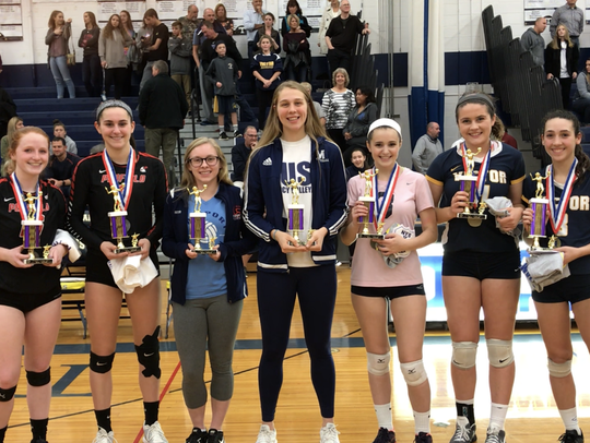 The Section V Class AA all-tournament team in girls