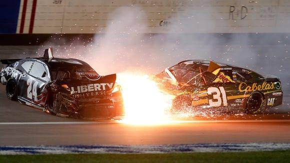 AP NASCAR KANSAS AUTO RACING S CAR USA KS