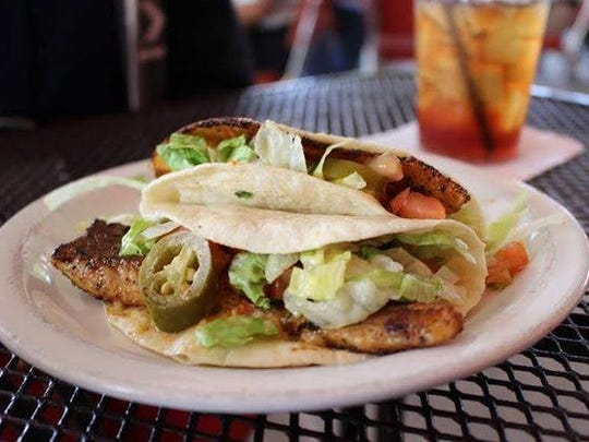 The fish tacos are one of many things that Agave Grill
