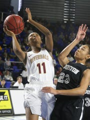Riverdale junior point guard Aislynn Hayes will try to lead the Lady Warriors to their third straight Class AAA state title.
