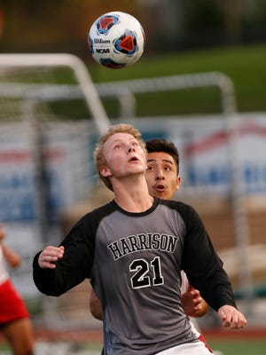 Jerrick Mennen scored a goal in Harrison's 3-0 win over Kokomo.