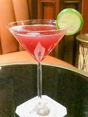The Foxy Lady martini at the JW Marriott in Grand Rapids.