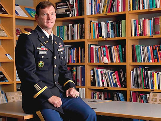 U.S. Army Gen. John Richardson commissioned from West