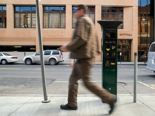 The City of Binghamton is installing 50 parking kiosks