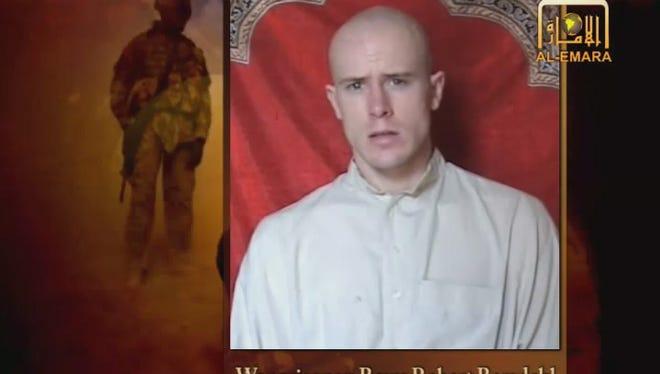 Sgt. Bowe Bergdahl was in captivity.