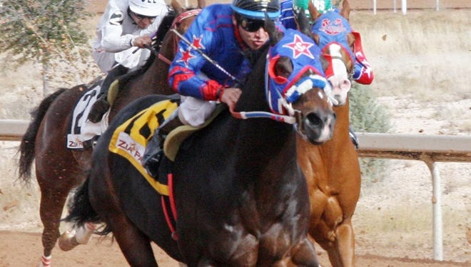 Jrc Callas First will run in Sunday's featured race at Sunland Park Racetrack & Casino.