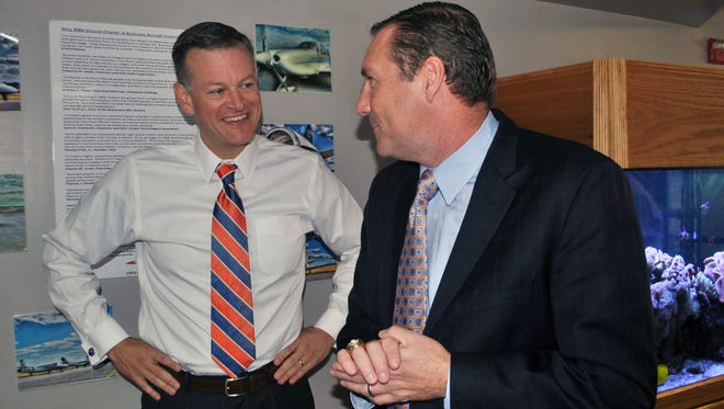 Scott Stricklin and Dan Mullen were among two of seven defendants named in a lawsuit filed by Rebel Rags Tuesday.