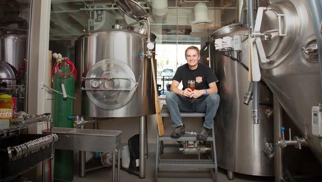 Steve McFate of Fate Brewing Company.