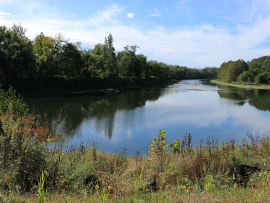 The Lackawanna Trail extension provides an up close