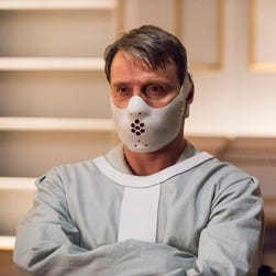 Mads Mikkelsen is Hannibal Lecter  in the series finale of the NBC drama 'Hannibal.'