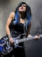 Guitarist Korey Cooper will perform with Skillet on March 20 at Bankers Life Fieldhouse.