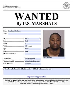 Blackmon wanted poster