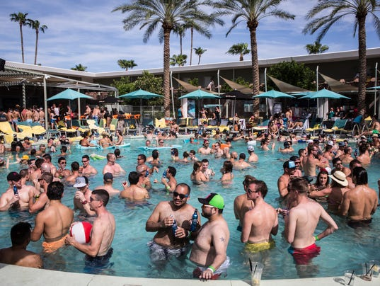 best vegas pool parties