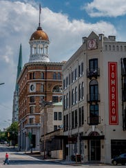 The Tomorrow Building and The Dome Building in Chattanooga,