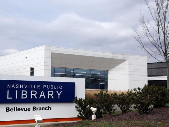 The Bellevue branch is among the newest libraries in Nashville.