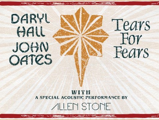 Hurry don't miss out on seeing Hall & Oates on tour with Tears For Fears, May 17th at Joe Louis Arena