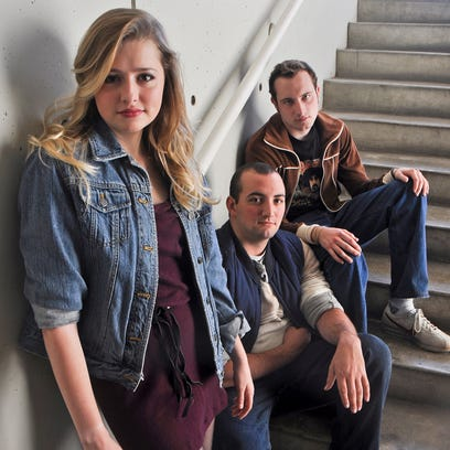 """Emily Cullum, Benjamin Pratt and Preston Alexander Raymer are performing in the play """"This Is Our Youth"""" opening at the University of Tennessee Lab Theatre."""
