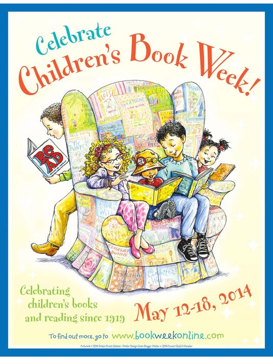 Check out the official poster for Children's Book Week