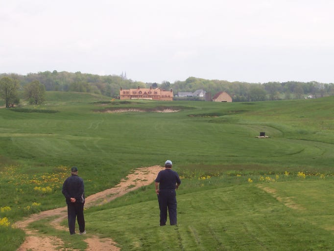 These photos from former Erin Hills owner Bob Lang