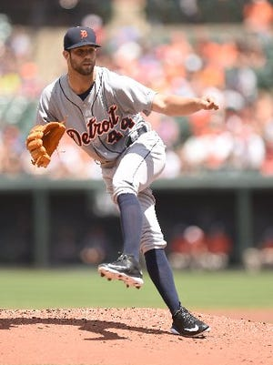 Left-hander Daniel Norris made his debut for the Tigers on Sunday, a win at Baltimore.