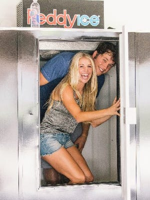 What hijinks are Matthew and Kelly Stafford up to in their new commercial?