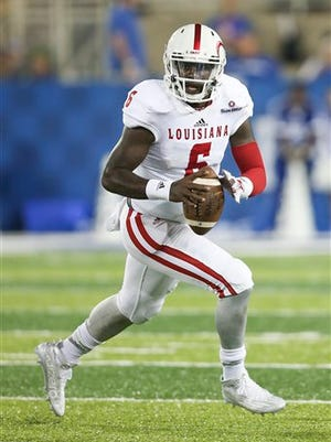 ULM will dare UL quarterback Jalen Nixon, shown here in a 2015 game at Kentucky, to beat it through the air.