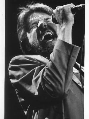 Bob Seger in 1986 at Pine Knob.