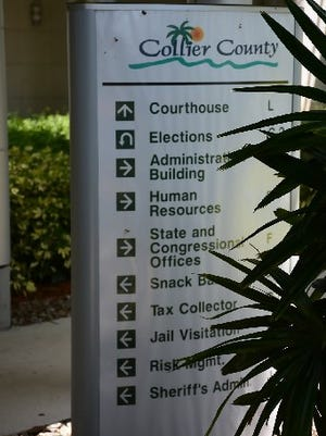 The Collier County Government Center is the nerve center for the area's legal, legislative, and official operations