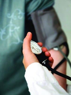 VNA blood pressure screenings.