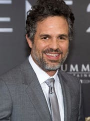 "File-This June 6, 2016, file photo shows Mark Ruffalo attending the world premiere of ""Now You See Me 2"" at AMC Loews Lincoln Square in New York. New York Mayor Bill de Blasio, the Rev. Al Sharpton and celebrities including Ruffalo, Michael Moore and Rosie Perez are planning to rally New Yorkers to stand up to President-elect Donald Trump on the eve of his inauguration, organizers said Saturday."