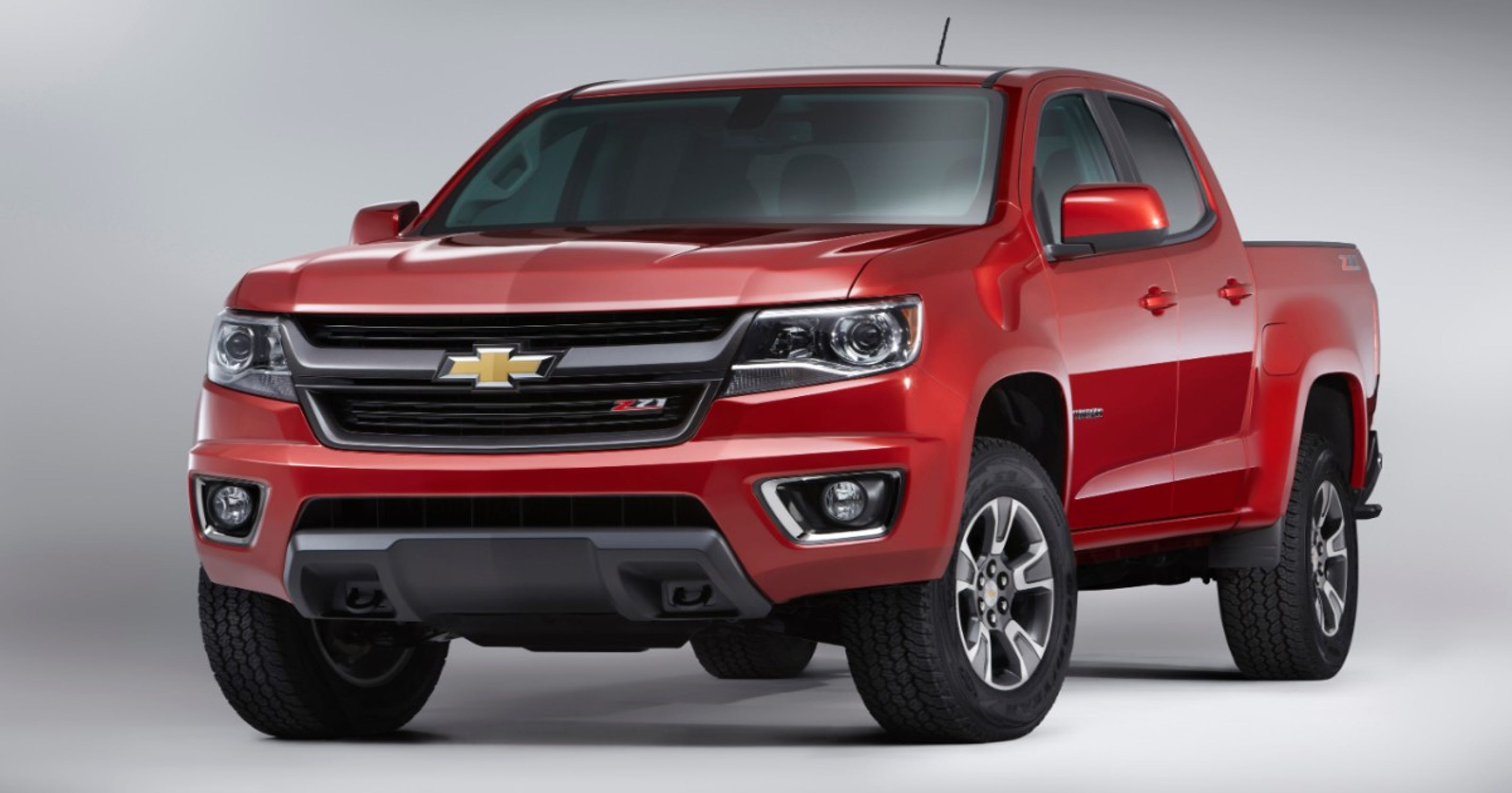 GM halts sales of Chevrolet Colorado, GMC Canyon trucks over airbag