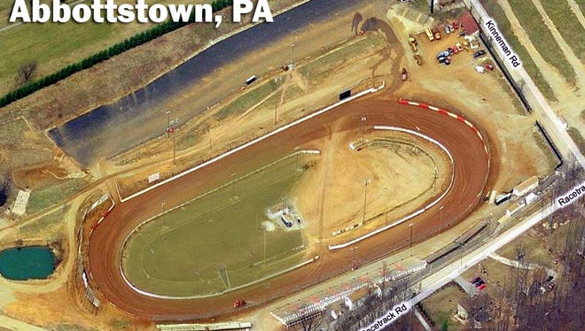 Lincoln Speedway.