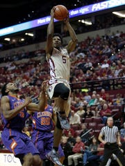 Malik Beasley has scored in double figures in every game for Florida State this season.