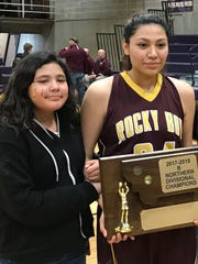 Rocky Boy senior basketball standout JayLynn Mitchell