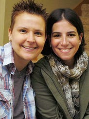 Amy Sandler and Niki Quasney