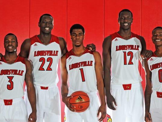 2014 15 Kentucky Wildcats Men S Basketball Team: Louisville Men's Basketball Team Opens Season With More
