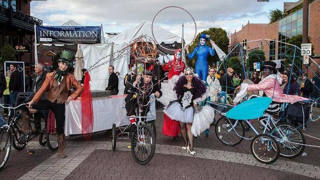 Velocity Circus will put on a parade and pop-up circus at the 2014 Spring Tempe Festival of the Arts.