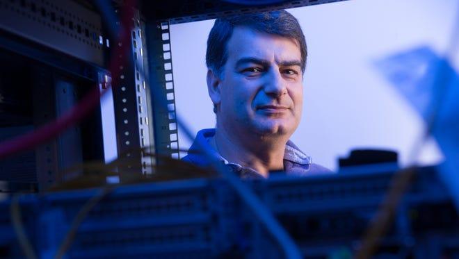 Christos Papadopoulos, Professor of Computer Science, Colorado State University, April 7, 2015